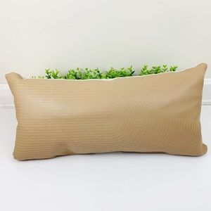 Project 62 NEW Faux Leather Accent Lumbar Pillow
